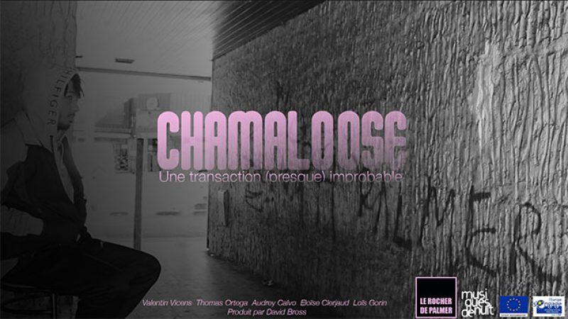 Poster d'Audrey pour le court-métrage Chamaloose.